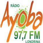 Logo da emissora Rádio Ayoba 97.7 FM