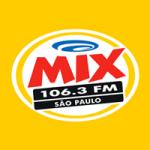 Logo da emissora Rádio Mix 106.3 FM