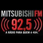 Logo da emissora Rádio Mitsubishi 92.5 FM
