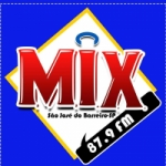 Logo da emissora Rádio Mix 87.9 FM
