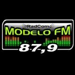 Logo da emissora Rádio Modelo 87.9 FM