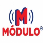 Logo da emissora Rádio Módulo 96.1 FM