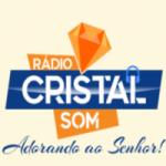 Logo da emissora Rádio Cristal Som