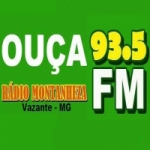 Logo da emissora Rádio Montanheza 93.5 FM