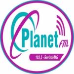 Logo da emissora Rádio Planet 103.5 FM