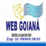 Logo da emissora Rádio Web Goianá