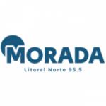 Logo da emissora Rádio Morada Litoral 95.5 FM