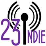 Logo da emissora Radio 23 Indie Street