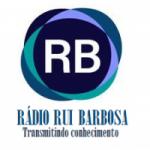 Logo da emissora Rádio Rui Barbosa