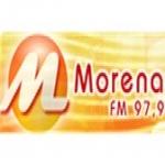 Logo da emissora Rádio Morena 97.9 FM