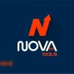 Logo da emissora Rádio Nova 103.5 FM