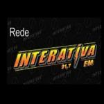 Logo da emissora Rádio Interativa 107.7 FM