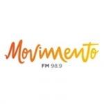 Logo da emissora Rádio Movimento 98.9 FM