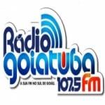 Logo da emissora Rádio Goiatuba 107.5 FM