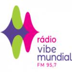 Logo da emissora Rádio Vibe Mundial 95.7 FM 660 AM