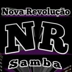 Logo da emissora Nova Revolução Samba