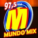 Logo da emissora Rádio Mundo Mix 97.5 FM
