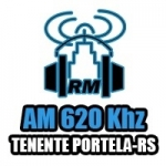 Logo da emissora Rádio Municipal 620 AM