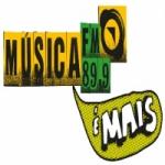 Logo da emissora Rádio Música 89.9 FM