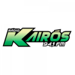 Logo da emissora Rádio Kairós 94.1 FM