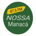Logo da emissora Rádio Nossa Manacá FM