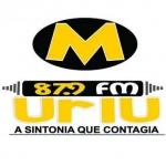 Logo da emissora Rádio Muriú 87.9 FM