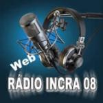 Logo da emissora Rádio Incra 08