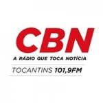 Logo da emissora Rádio CBN Tocantins 101.9 FM