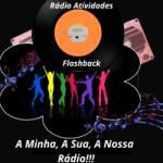 Logo da emissora Rádio Atividades Flashback