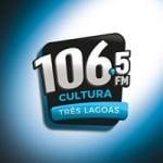 Logo da emissora Rádio Cultura 106.5 FM