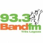 Logo da emissora Rádio Band 93.3 FM