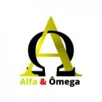 Logo da emissora Rádio Alfa e Ômega