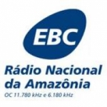 Logo da emissora Rádio Nacional da Amazônia OC 11.780 KHZ