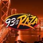 Logo da emissora Radio La Raza 93.3 FM - KRZZ