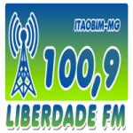 Logo da emissora Rádio Liberdade 100.9 FM