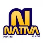 Logo da emissora Rádio Nativa 93.9 FM
