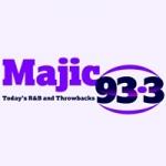 Logo da emissora KMJI 93.3 FM