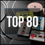 Logo da emissora Radio Top 80