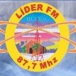 Logo da emissora Rádio Líder 87.7 FM