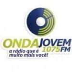 Logo da emissora Rádio Onda Jovem 107.5 FM