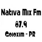 Logo da emissora Rádio Nativa Mix 87.9 FM