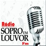 Logo da emissora Rádio Sopro em Louvor