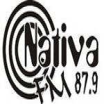 Logo da emissora Rádio Nativa 87.9 FM
