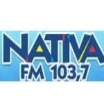 Logo da emissora Rádio Nativa 103.7 FM