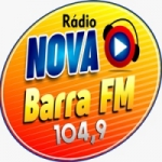 Logo da emissora Rádio Nova Barra 104.9 FM