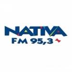 Logo da emissora Rádio Nativa 95.3 FM