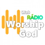 Logo da emissora Rádio Web Worship God