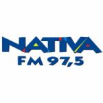 Logo da emissora Rádio Nativa 97.5 FM