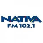 Logo da emissora Rádio Nativa 102.1 FM