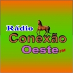 Logo da emissora Rádio Conexão Oeste FM